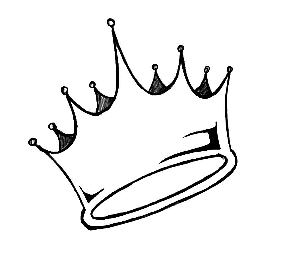 how to draw a crown simple crown drawing at getdrawings free download draw a crown to how