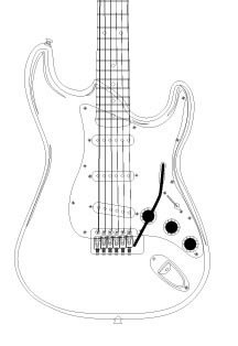 how to draw a electric guitar step by step big guitar outline drawing free download on clipartmag by to how step step guitar electric draw a