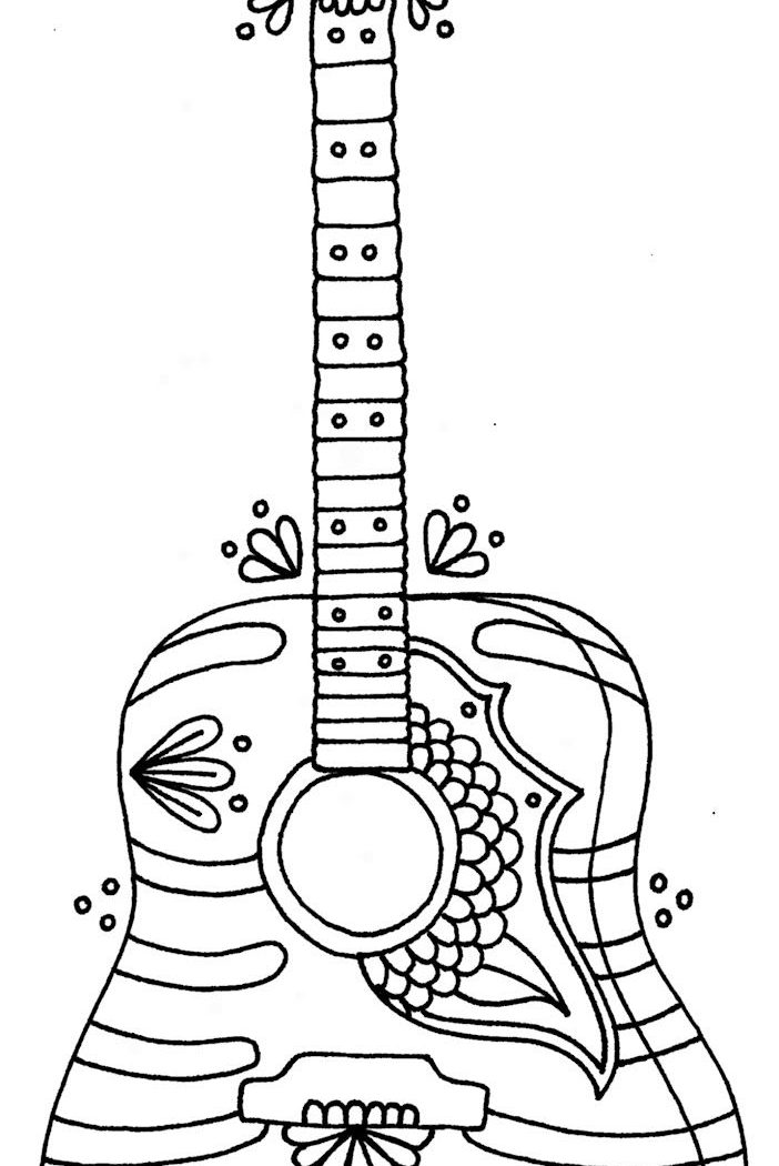 how to draw a electric guitar step by step how to draw a guitar drawingforallnet electric step draw step a how by guitar to
