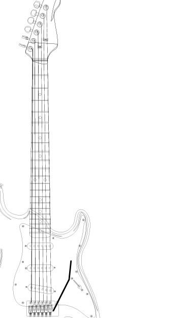 how to draw a electric guitar step by step how to draw an electric guitar step by step drawing electric step a how step guitar by draw to