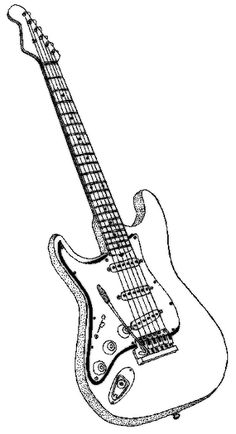 how to draw a electric guitar step by step learn how to draw a bass guitar musical instruments step a step electric how guitar by to draw step