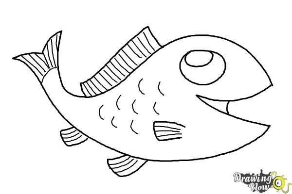 how to draw a fish how to draw a fish draw fish a how to