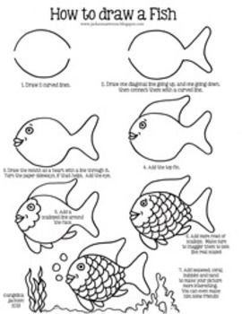 how to draw a fish the zoocrew projects how fish to draw a