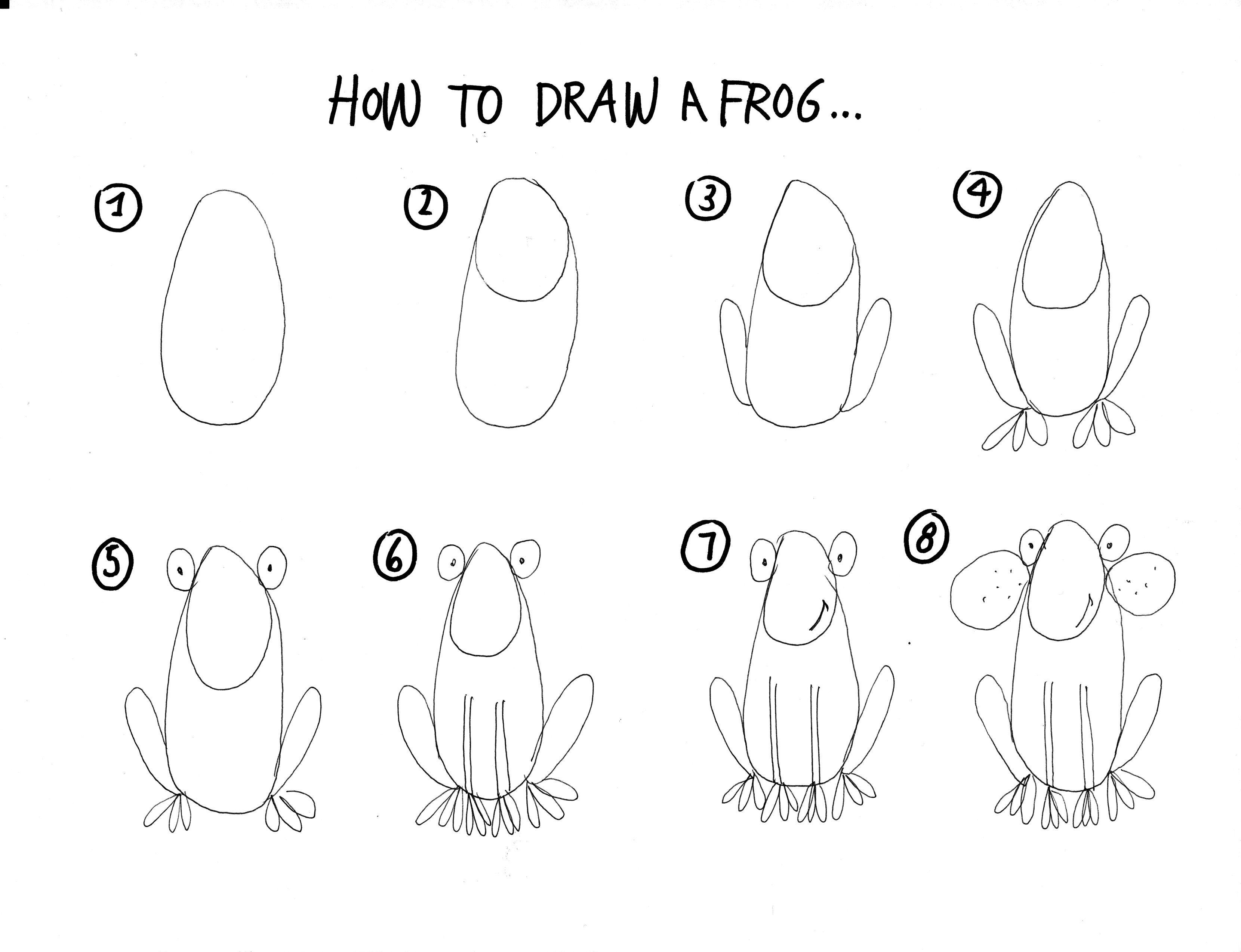 how to draw a frog easy draw a frog 1 by diana huang on deviantart frog art how draw a frog easy to