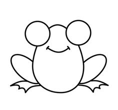 how to draw a frog easy pin on square 1 art ideas a easy how to draw frog