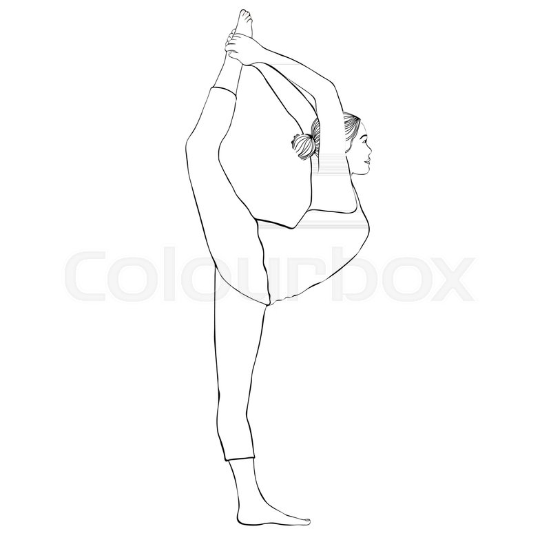 how to draw a girl doing the splits cartoon woman drawing at getdrawings free download draw splits doing a girl the to how