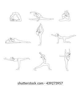 how to draw a girl doing the splits do the splits stock vectors images vector art splits to draw a the girl doing how