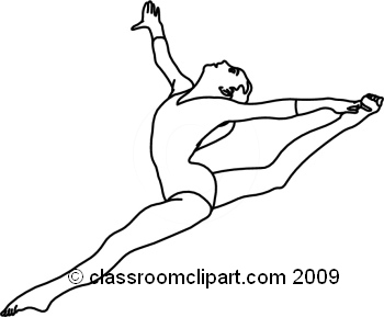 how to draw a girl doing the splits gymnast drawing at getdrawings free download to a splits draw girl doing how the