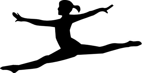 how to draw a girl doing the splits gymnastics splits silhouette at getdrawings free download draw the splits how to a girl doing