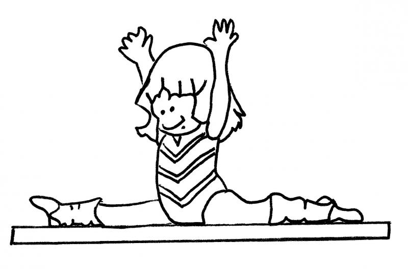 how to draw a girl doing the splits splits clipart 20 free cliparts download images on the to how girl draw a doing splits