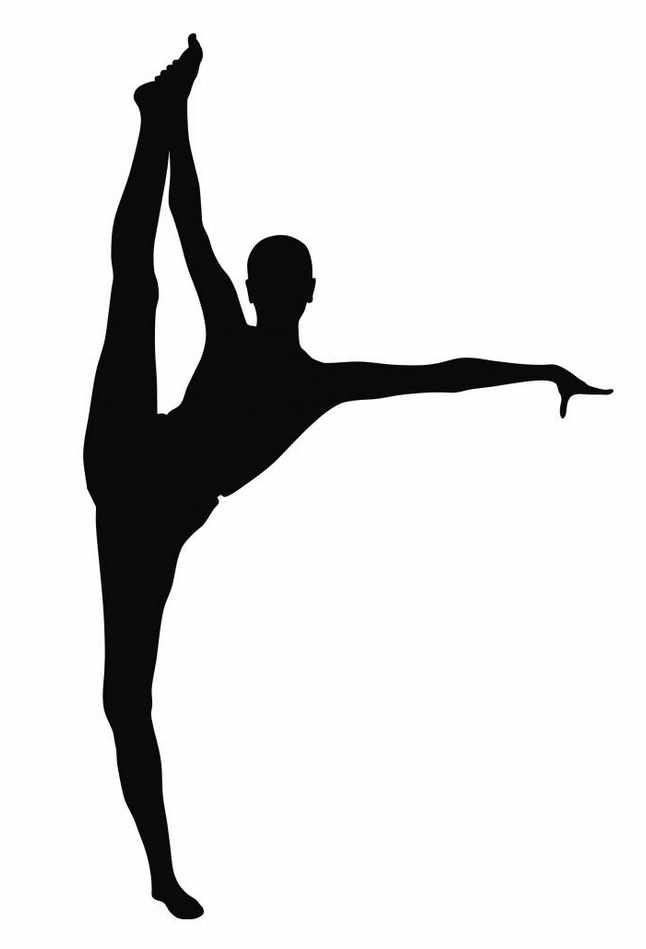 how to draw a girl doing the splits yoga silhouette pesquisa google yoga for kids splits how girl doing a to the draw