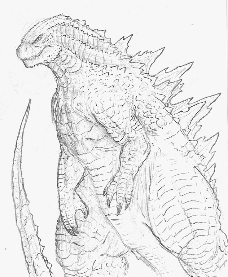 how to draw a godzilla classic godzilla drawing drawings to draw how a godzilla