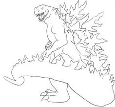 how to draw a godzilla day 3 anguirus godzillakingofthemonsters godzilla how draw a to godzilla