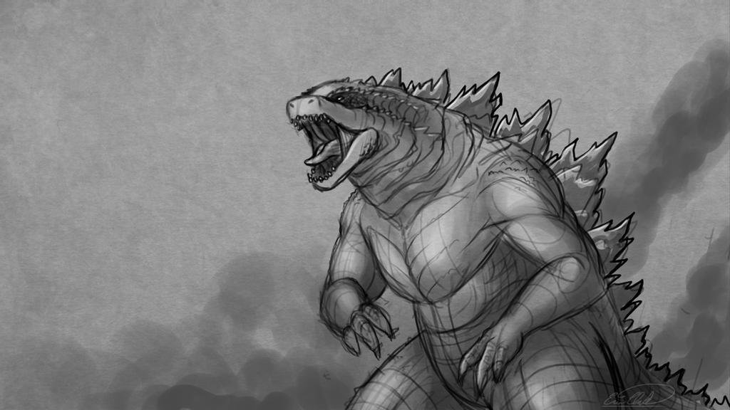 how to draw a godzilla godzilla coloring coloring pages for kids and for adults draw godzilla a to how