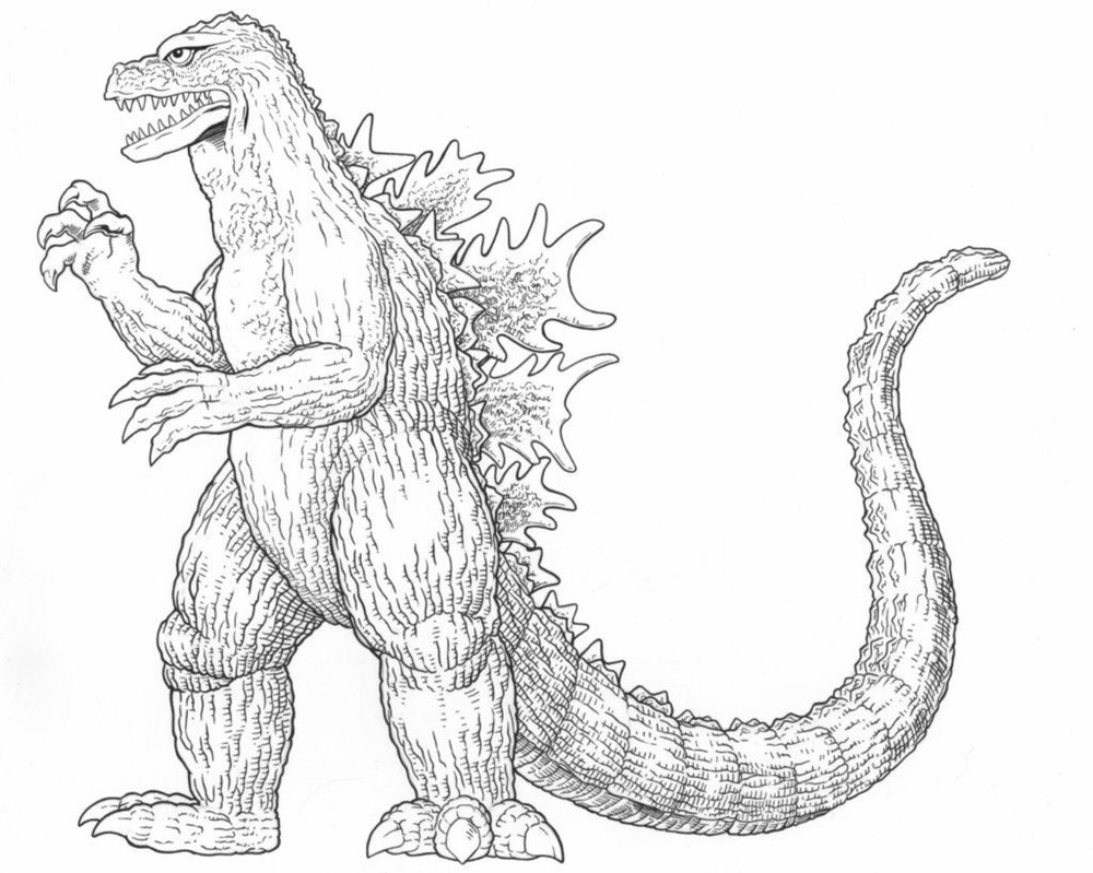 how to draw a godzilla pin on fantasy a how godzilla to draw