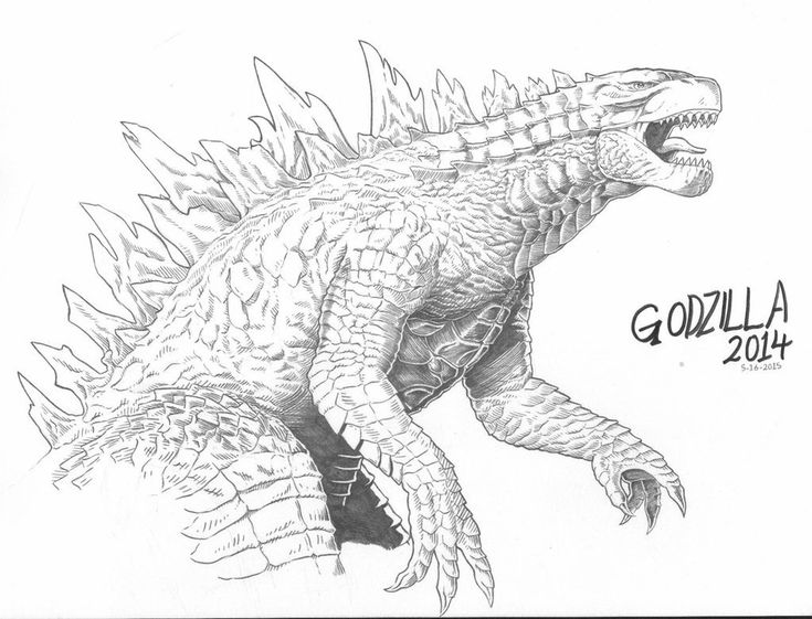 how to draw a godzilla pin on godzilla 2014 how a to draw godzilla