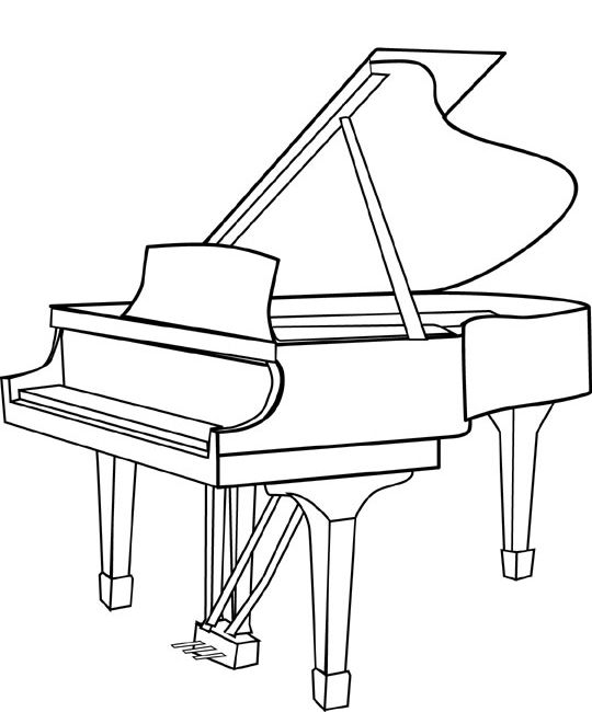 how to draw a grand piano grand piano drawing at paintingvalleycom explore draw how to grand piano a