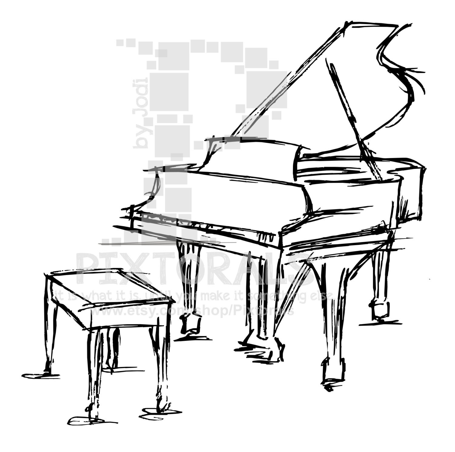 how to draw a grand piano grand piano drawing free download on clipartmag piano how to draw grand a