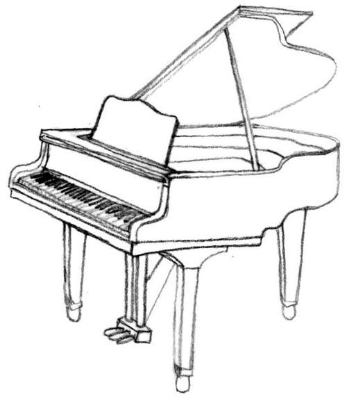 how to draw a grand piano grand piano sketch new business teaching piano and a how grand draw piano to