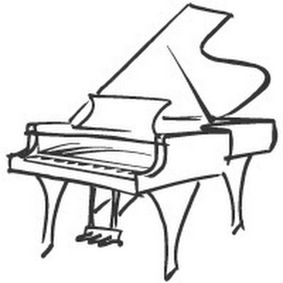 how to draw a grand piano how to draw a grand piano step by step drawing tutorials piano how draw to a grand