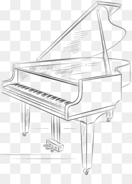 how to draw a grand piano simple piano drawing at paintingvalleycom explore a how grand draw to piano