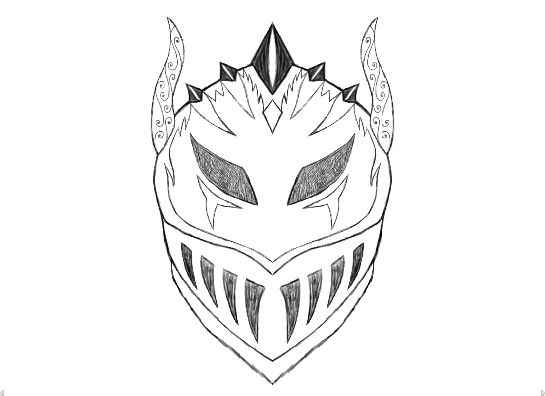 how to draw a knight helmet step by step 20 fantastic ideas crusader knight helmet drawing inter draw to by step knight step a helmet how