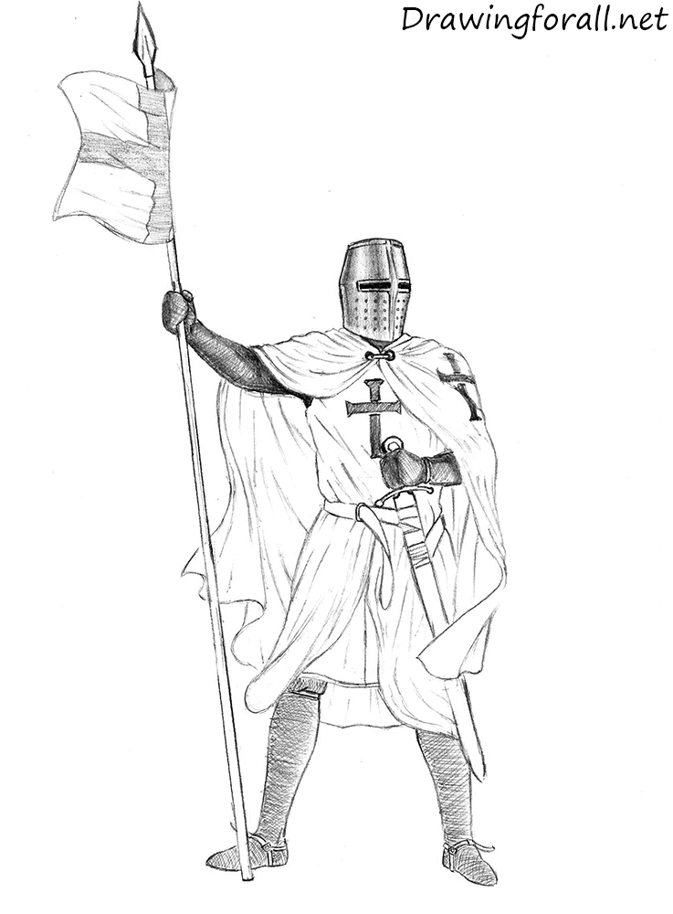 how to draw a knight helmet step by step how to draw a cartoon knight drawingforallnet by step how to helmet step knight draw a