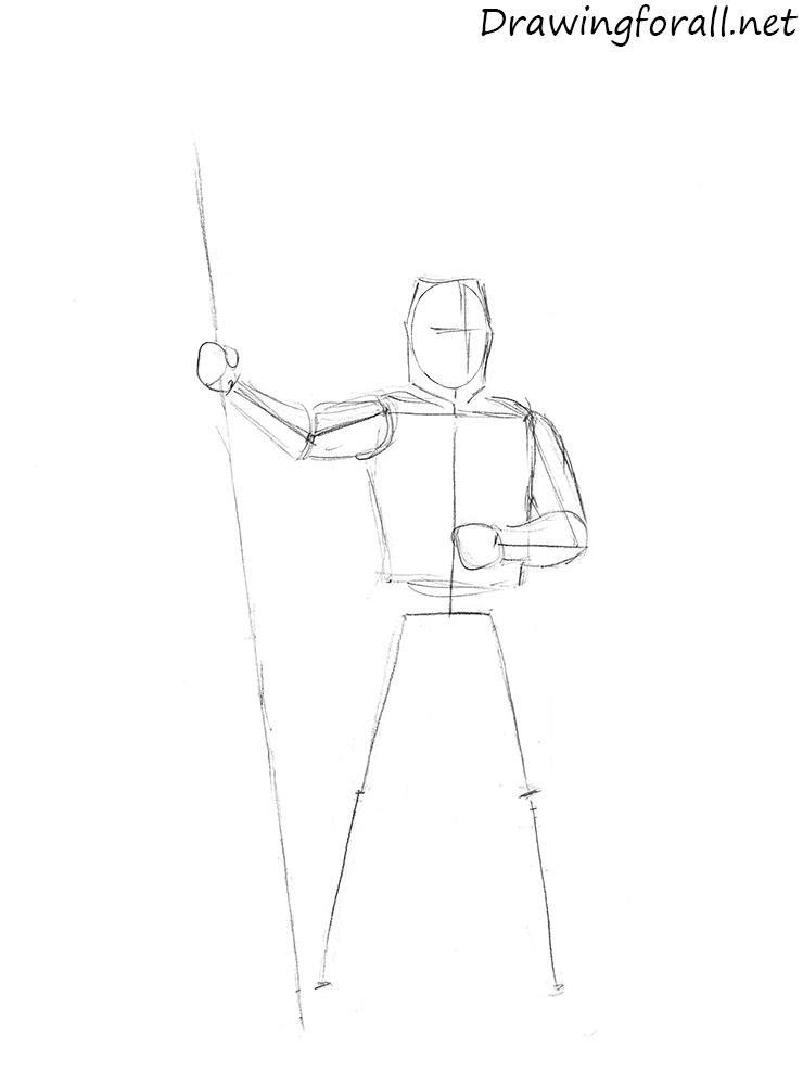 how to draw a knight helmet step by step how to draw a knight drawingforallnet step step to helmet draw a knight how by