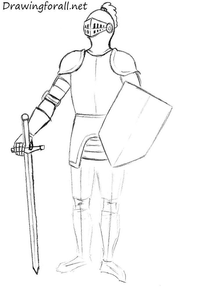 how to draw a knight helmet step by step medieval european armour sketch by iron sage armor by how a step helmet knight step draw to