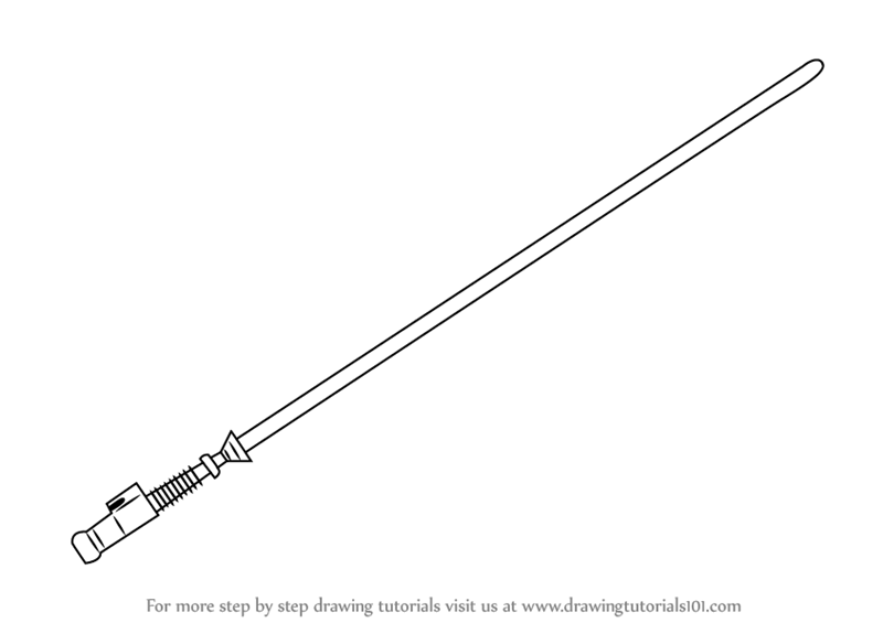 how to draw a lightsaber learn how to draw lightsaber from star wars star wars how to draw lightsaber a