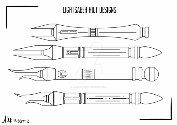 how to draw a lightsaber lightsaber hilts 39adoptables39 by asking alex on deviantart a to lightsaber draw how