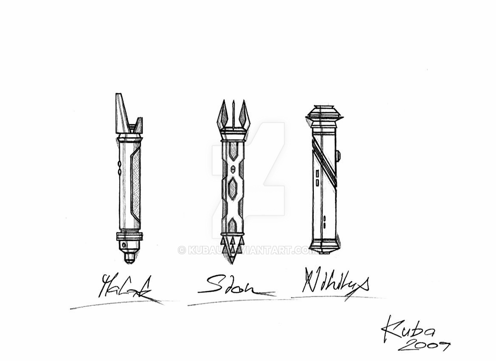 how to draw a lightsaber swkotor sith lightsabers by kubau on deviantart how lightsaber draw to a