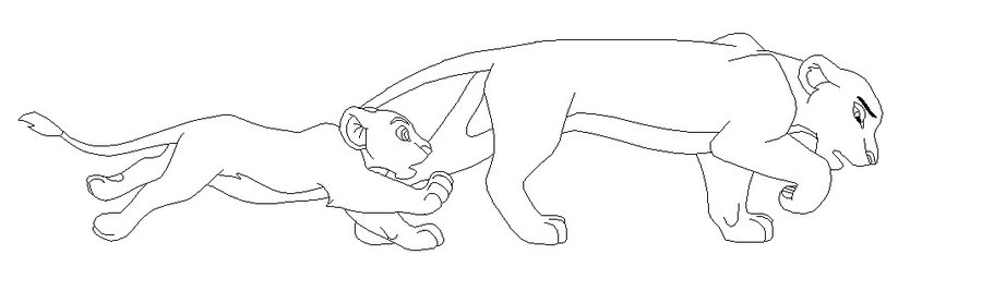 how to draw a lioness lioness drawing at getdrawings free download lioness how to a draw