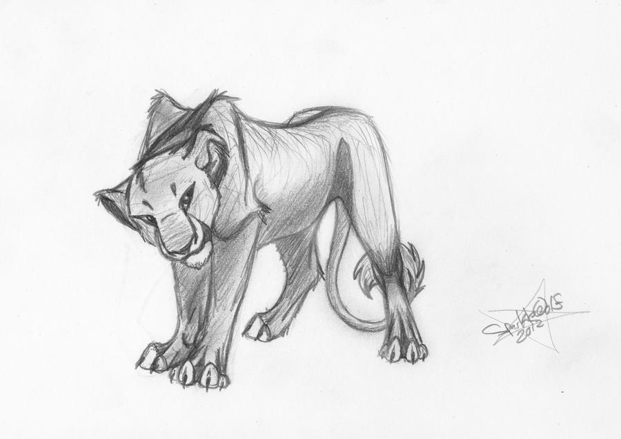 how to draw a lioness young lioness sketch by sparklewolf7000 on deviantart to a how lioness draw