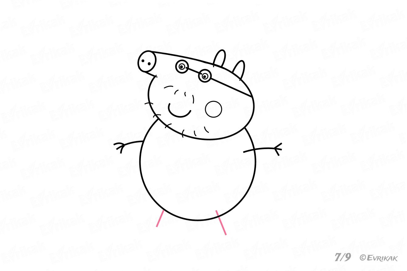 how to draw a pig fpencil how to draw pig for kids step by step how pig draw a to