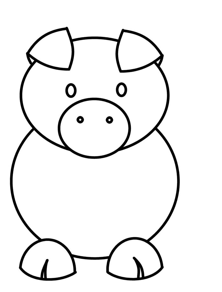 how to draw a pig how to draw a simple pig 9 steps with pictures wikihow a how draw pig to