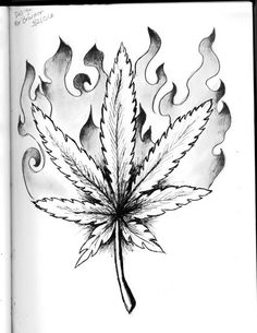 how to draw a potleaf easy trippy drawings free download on clipartmag how potleaf draw to a