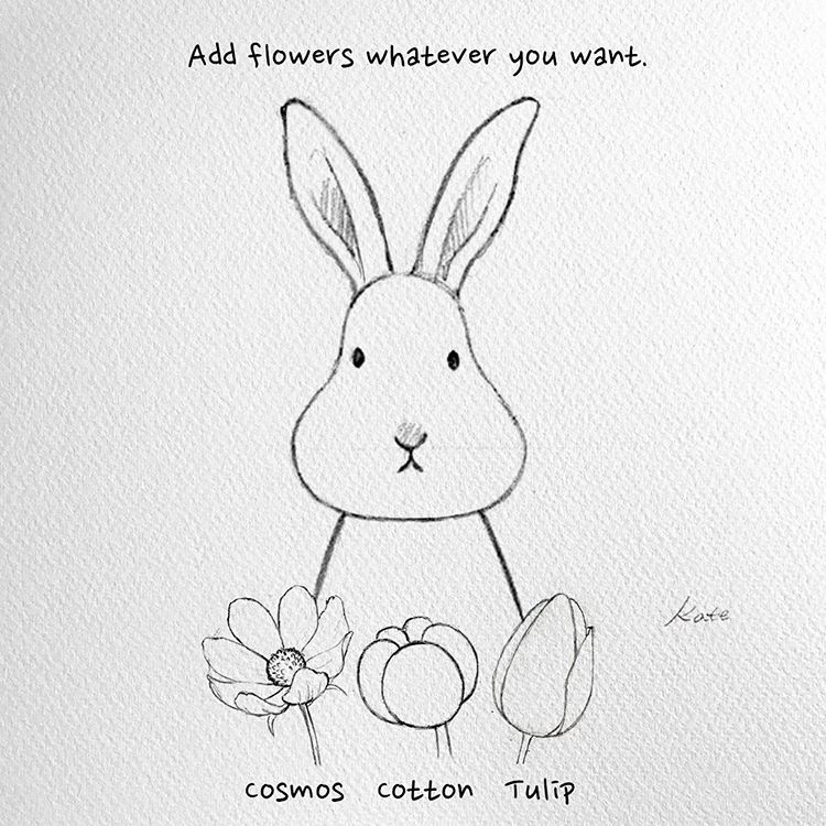 how to draw a rabbit face vintage hand drawn bunny face sketch how to draw hands a face to how draw rabbit