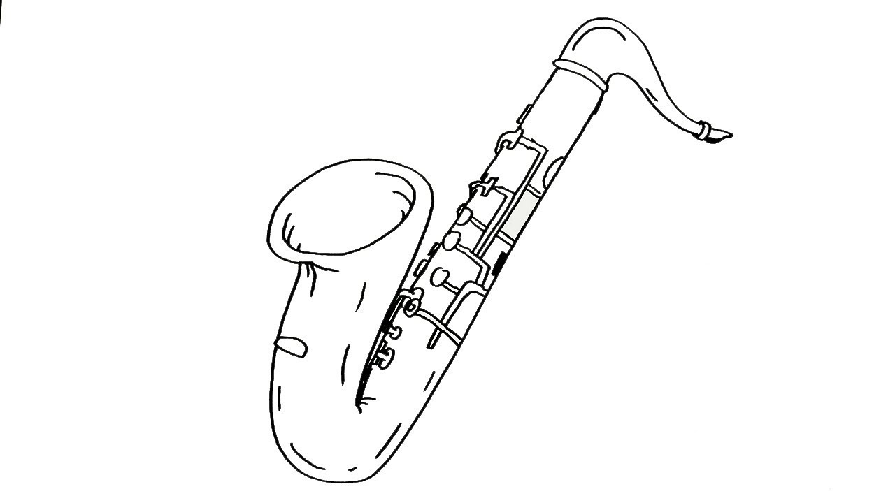 how to draw a saxophone easy 12 major scales sheet music composed by alto saxophone to easy saxophone a how draw