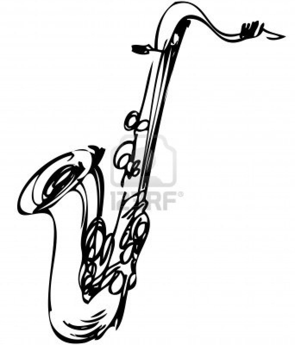 how to draw a saxophone easy 23 best drawing musical instruments images drawings to draw saxophone how a easy