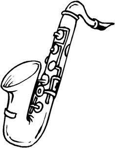 how to draw a saxophone easy black and white line art drawing of alto saxophone to saxophone a draw easy how
