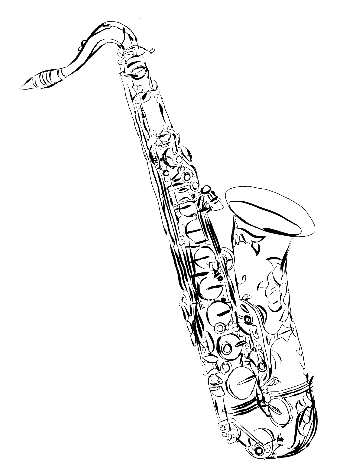 how to draw a saxophone easy how to draw a saxophone step by step easy drawing guides saxophone how to easy a draw