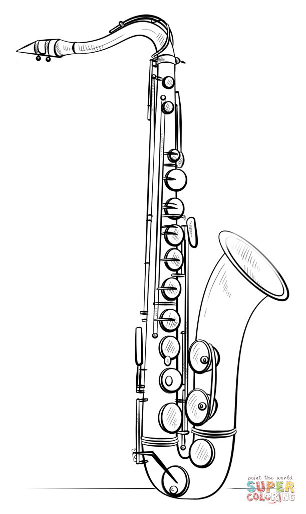 how to draw a saxophone easy how to draw a saxophone step by step learn drawing by to draw easy a saxophone how