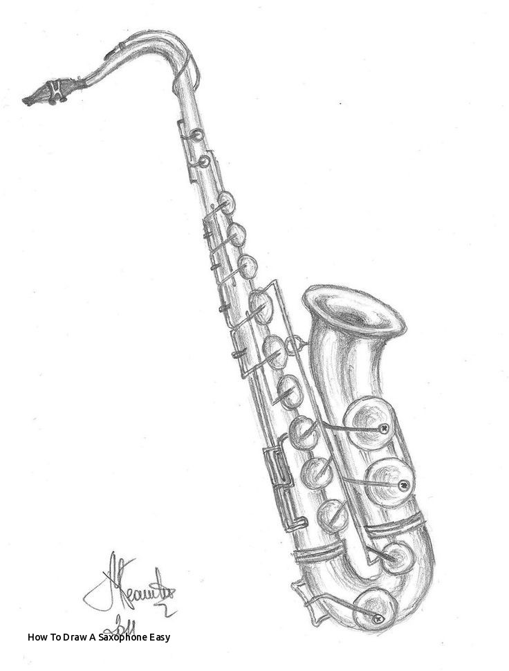 how to draw a saxophone easy saxophone vector cartoon art designs compilation we are how draw saxophone to a easy