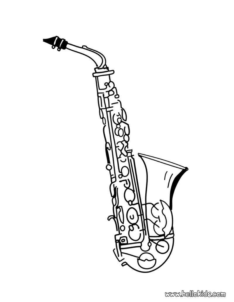 how to draw a saxophone easy tenor saxophone drawing at getdrawings free download a how draw saxophone to easy