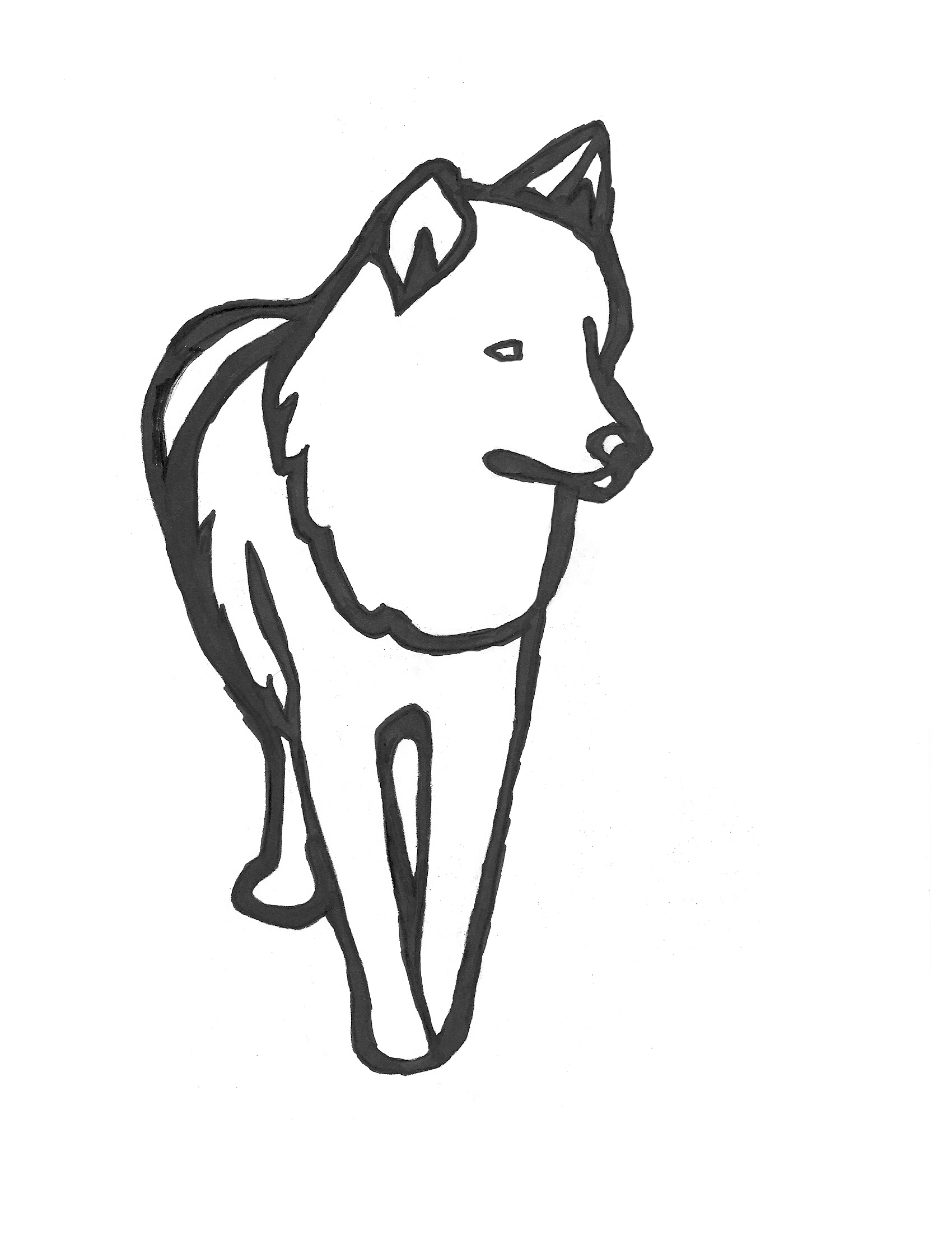 how to draw a snow wolf snow wolf turned to dog by elite hamano on deviantart snow draw a how to wolf