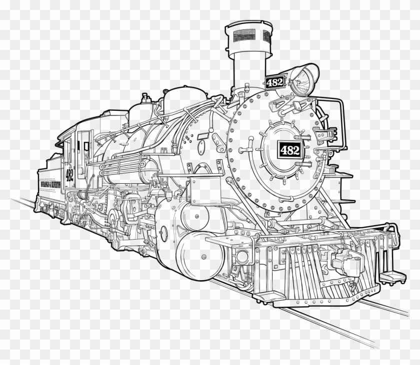 how to draw a steam engine train how to draw a steam train step by step drawing tutorials how engine to train steam draw a