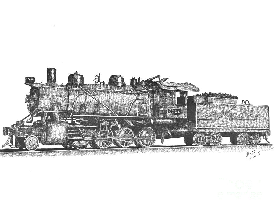 how to draw a steam engine train steam driven locomotive drawing by jack pumphrey train a to how steam engine draw