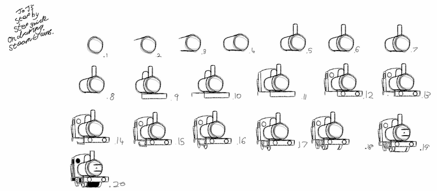 how to draw a steam engine train steam engine wikiversity engine draw to steam a how train