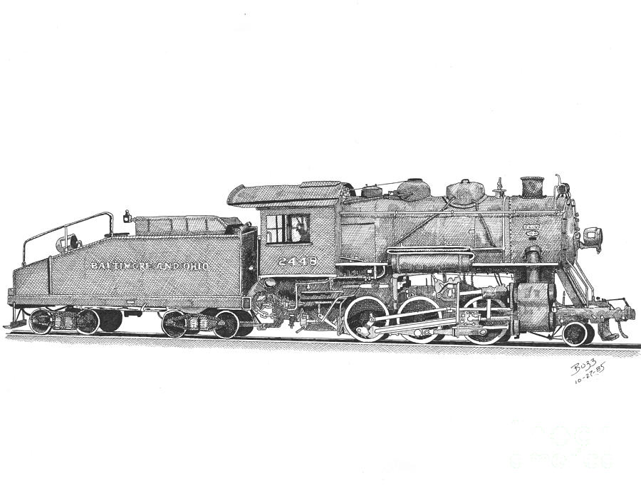 how to draw a steam engine train steam train drawing at paintingvalleycom explore a engine how train steam to draw